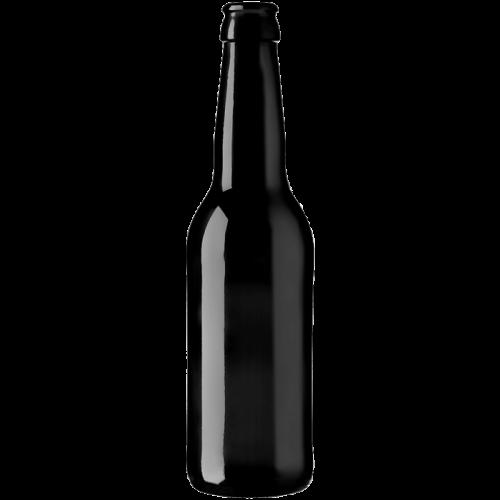Bouteille à bière Long Neck 33cl noire