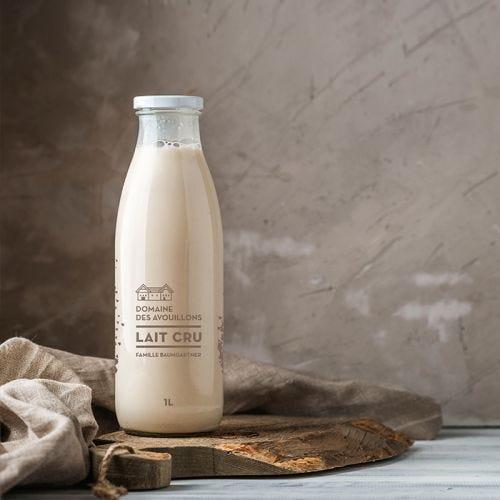 Bouteille à lait 100cl TO48