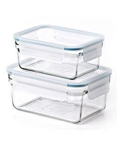 Set de 2 boîtes hermétiques Glasslock