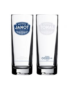 Personalised spirit glass